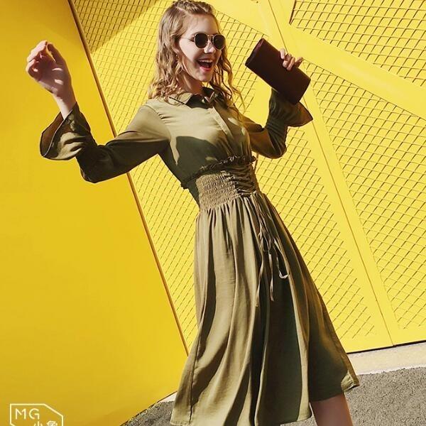 秋冬新作!レディース ワンピース 格好韓国ファッション セクシー ニットワンピース パフスリーブ ロングワンピース厚手 柔らかな肌触りで着心地がよく温かい