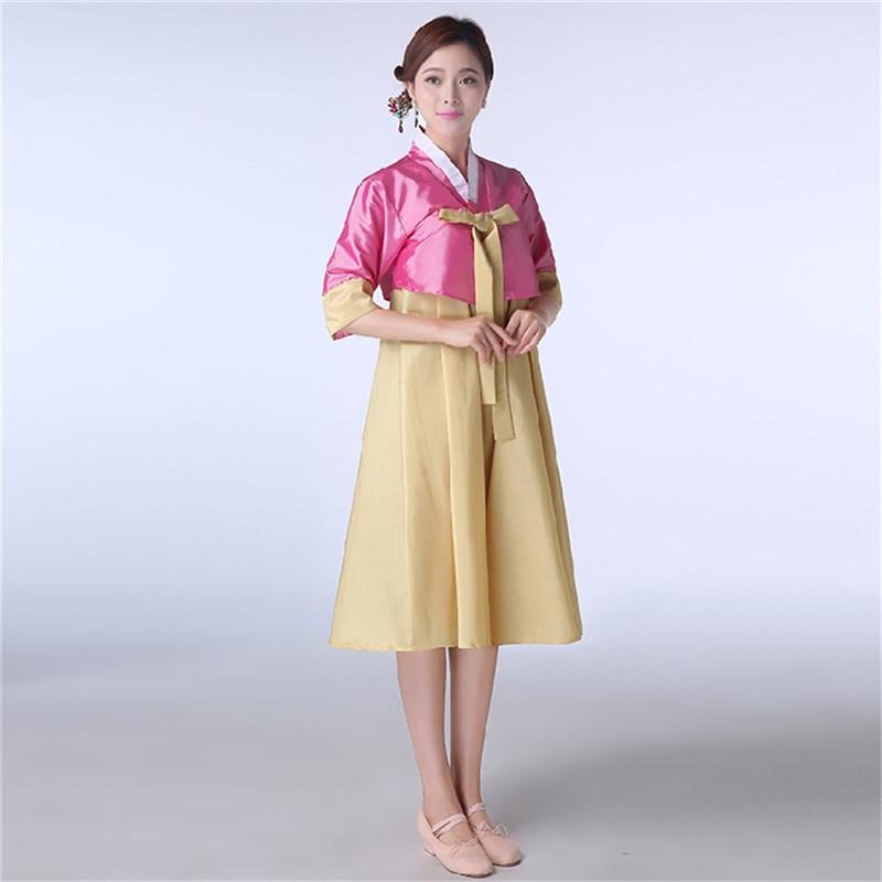 韓国 民族衣装 チマチョゴリ  改良版 短いデザイン オシャレ コスプレ パーティードレス  服装 コスチューム ハロウィン 膝丈 スカート