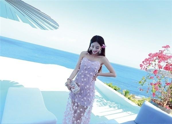 レディースワンピース ビーチワンピース 砂浜 キャミ ファッション ハイセンス 着心地いい おしゃれ 夏 スリム レディースワンピース