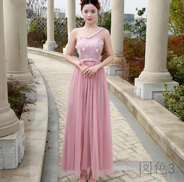 2017新作  心地良い 華やか ロングドレス 大人気 全5色  新作