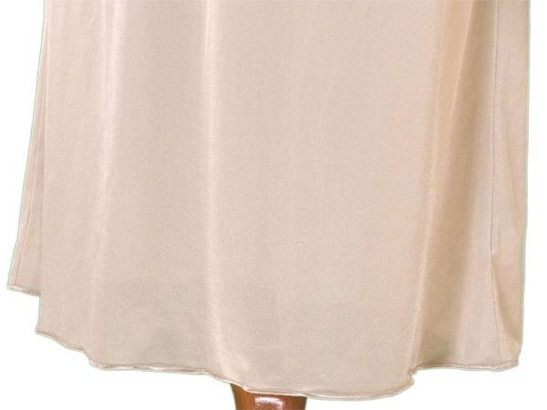 ミッソーニ MISSONI ワンピース インナー レディース ♯46サイズ キャミワンピ ベージュ PE/100% 人気 セール 【中古】 L1162 .