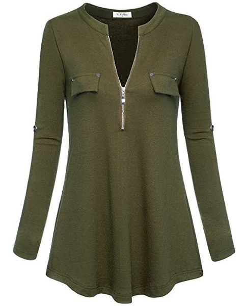 女性のファッションS 5xlロングスリーブボディコンチュニックトップTシャツトップブラウスXS-5XL