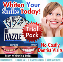 2DAYS TRIAL!  BeDazzle Professional Teeth Whitening Strips - Whiten Your smile Today! No costly Dental visits! *Clinically Proven* 2 Days Supply* First Launch Outside UK.