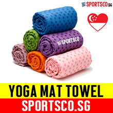 ⏰⚡ Premium Yoga Towel ☘ Yoga Mat Towel ☘ FREE Mesh Bag ☘ Anti Slip Dots ☘ Microfiber Towel