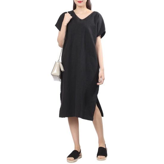ラブLAPリンネンドゥイッリボンOPSAH4WO740 面ワンピース/ 韓国ファッション