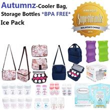 Autumnz-Cooler Bag/Ice Pack/Wide/Std Neck Storg Btls(2/4 btls)/Storage Bag-Medela Avent Spectra