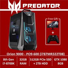 Predator Orion 9000 PO9-600 (i787MR322T08) Gaming Desktop