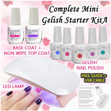 🚩Complete Gelish Kit Set ★ Perfect kit for Starters! Customized ★Limited Set