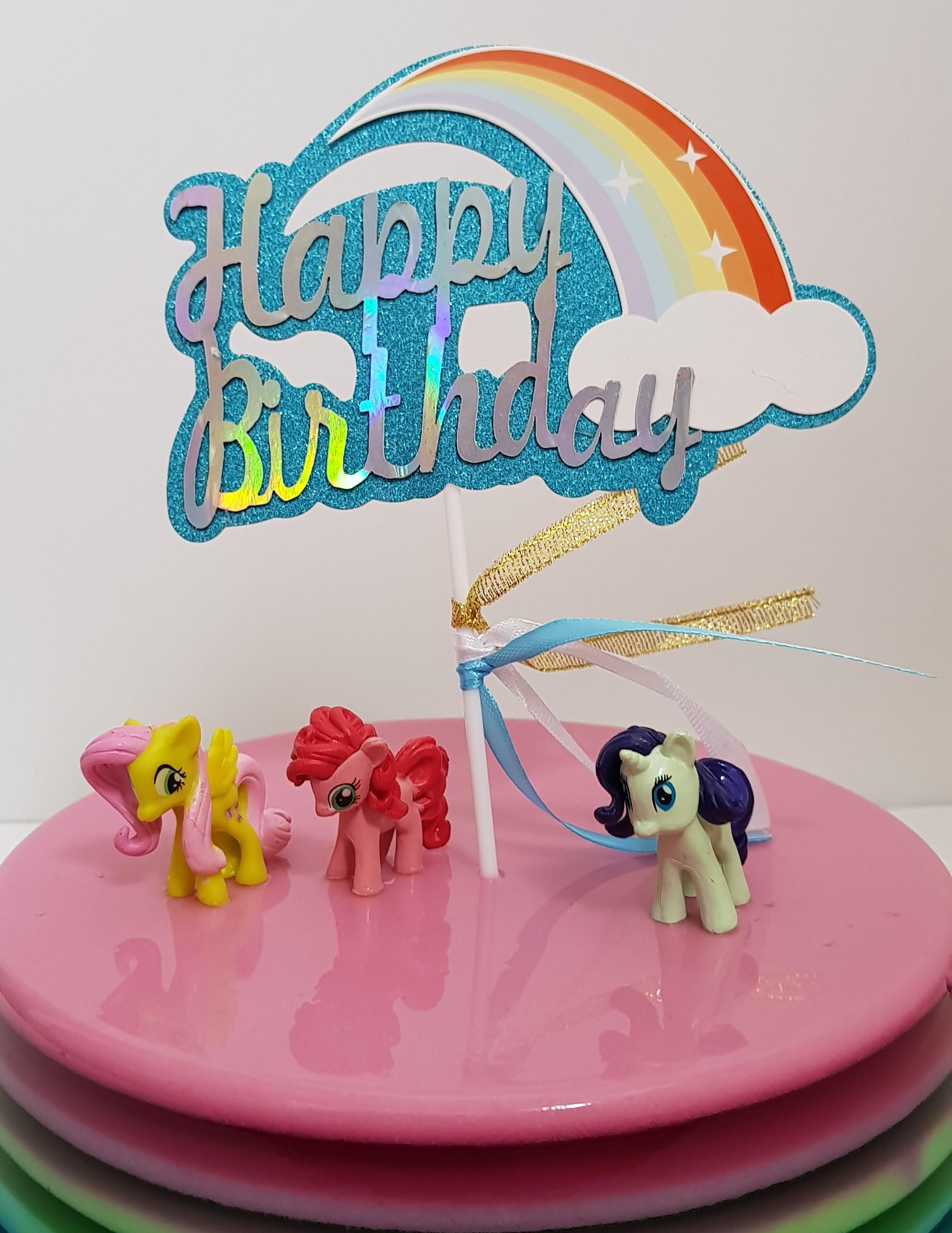 Actual Size Prev Next Birthday Cake Decoration