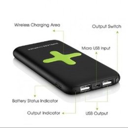 Awei P98k 7000mAh Wireless Charging Power Bank SG SELLER FAST DELIVERY