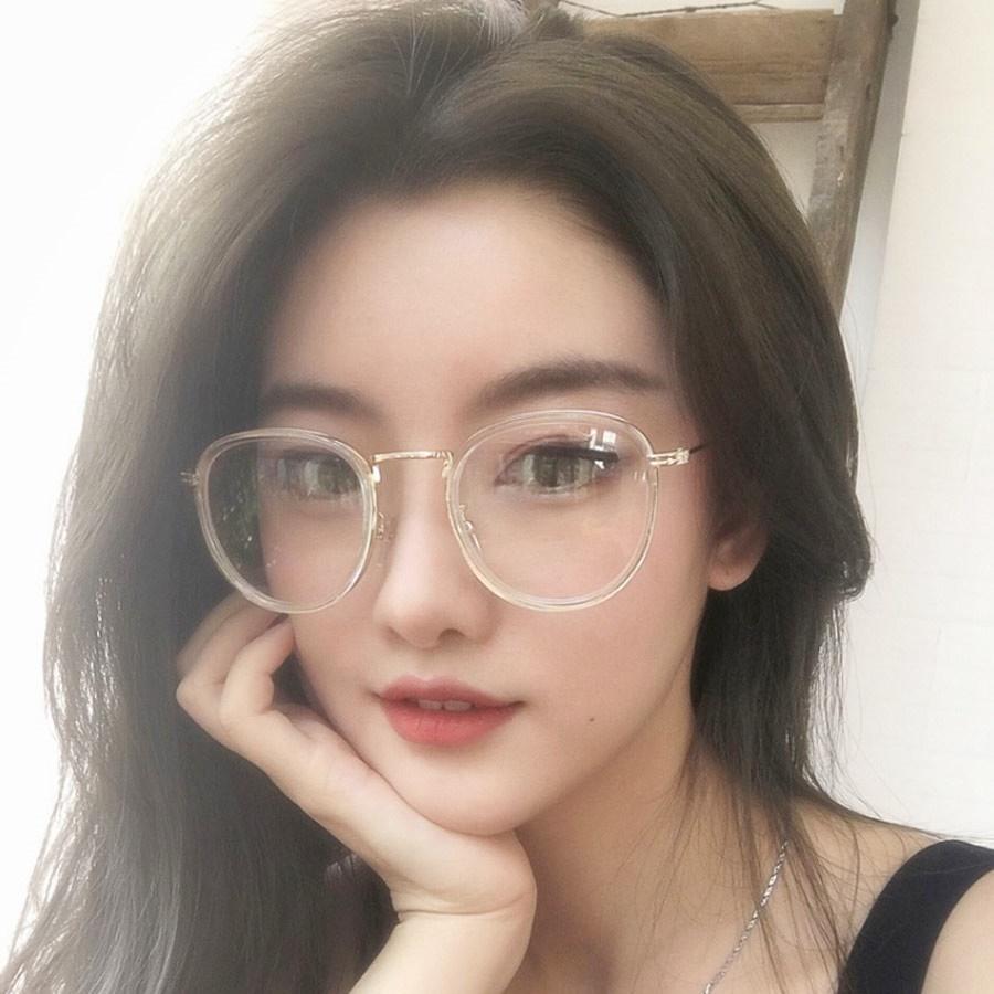 Qoo10 New Korean Style Luxury Vintage Round Glasses Women Or Men