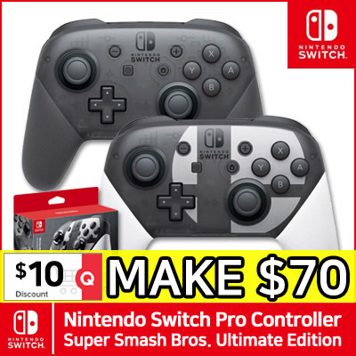 nintendo switch pro wireless controller super smash bros. ultimate edition