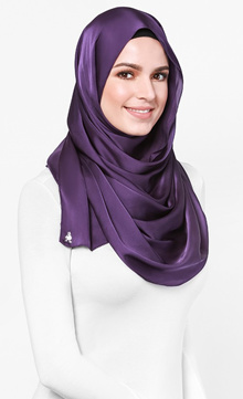 Duck Shawl* Matte Satin* Long Shawl* Muslimah*