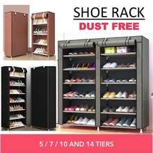Shoe rack suitable for both indoor and outdoor/corridor. Keep your shoes safe n dust free! 👞 👟 👠