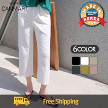 [CANMART] ♥Best selling item♥6 Color Women Linen Daily Basic Pants / C041702