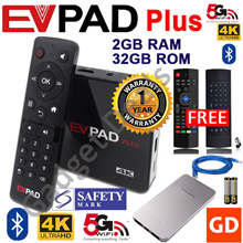 #Free Gift# EVPAD PLUS PRO+ 2S+ Easy TV Box EVOD SMART Box 1 Year Local Warranty SAFETY Mark