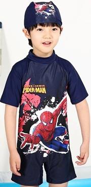 2014 Spiderman One Piece Swimwear for Boy (40537)
