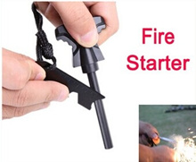 Magnesium Stone Flint Fire Starter Kit Outdoor Survival Free / Drop Shipping Wholesale