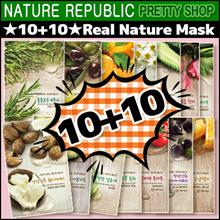 ★NATURE REPUBLIC★ ★10+10★Real Nature Mask [pretty shop]