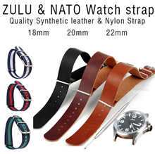 ♥ ZULU Watch Strap ♥NATO Singapore seller EASY SLIP-IN Leather Strap NATO strap 18mm 20mm 22mm Men Women Wallet shoes Bicycle men Man fashion army iphone 7 watch bracelet PU Leather Nato