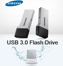 SAMSUNG USB 3.0 Flash DRIVE (32GB/64GB/128GB)/Stylish USB 3.0 Memory Drive FIT