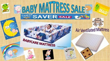 MattressSG★Baby★Cot★Mattress★Air★Ventilated★100%Cotton★Bedsheet★KINOCO★Bed★Crib★Foam★Comfort★Cooling