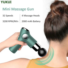Mini Massage Gun Deep Tissue Percussion Massager For Pain Relief Portable Body Muscle Relaxation