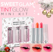 【Secret Key HQ Direct Operation】 Sweet Glam Tint Glow Mini Kit(3 types) / 3 Color 1set