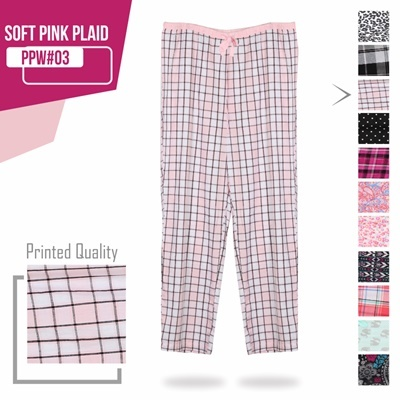 SOFT PINK PLAID