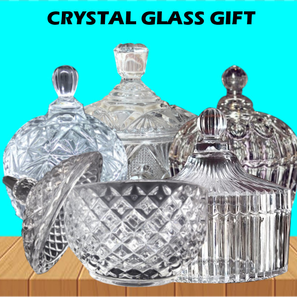Aneka Toples Kaca Transparant / Crystal Glass Jars / Snack Candy Deals for only Rp39.000 instead of Rp39.000