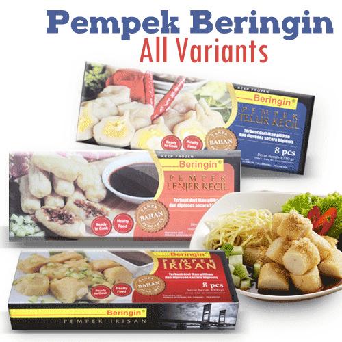 Aneka Pempek Beringin Kotak Deals for only Rp55.000 instead of Rp84.615