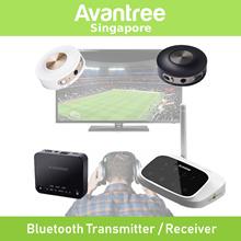 Avantree Wireless Bluetooth Audio from TV PC Laptop to 2 Headphones