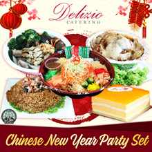 [Delizio] Chinese New Year Party Set. Yu Sheng Fortune Chicken many more!
