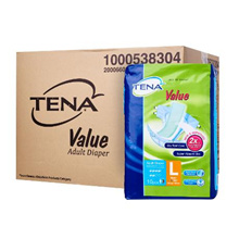 [[Carton Sale]] Tena Value Adult Diaper *8 bag in a carton