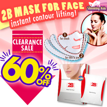 Limited Offer★ Asia No.1 Face Slimming mask| 2B Alternative Instant Face-lifting and achieve V Face