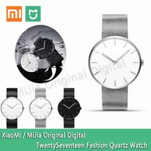 XiaoMi MiJia light fashion quartz watch / simple design / import machine core / light pointer