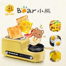 【小熊】烤面包机全自动吐司机片多功能多士炉土司家用小型早餐机神器-test