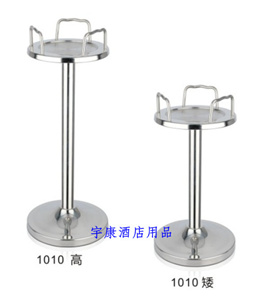 Stainless steel-style Champagne bucket/ice bucket stand (high/low)
