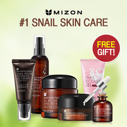 12.12 OFFER $10.99!! [Free Shipping] MIZON Snail Collection / All in One Snail Repair Line