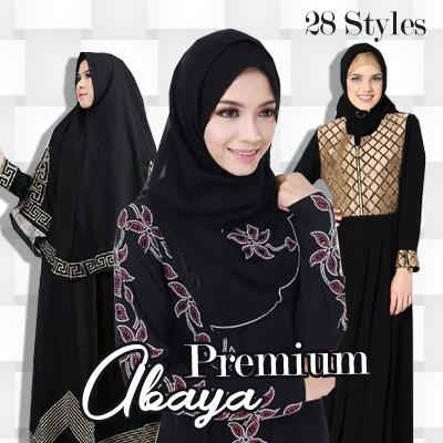 Promo SABELA Abaya bordir limited edition GOOD QUALITY / elegance Deals for only Rp149.000 instead of Rp149.000