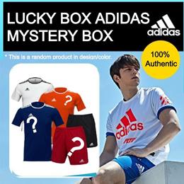 [adidas] 100% Authentic adidas t-shirts/pants mystery box super sale