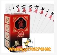 (2 sets)Paper Mahjong Solitaire Mahjong Mahjong Poker Tour silent soft mahjong