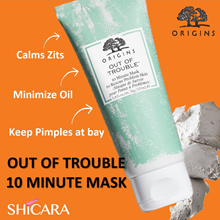Origins - Out Of Trouble 10min Mask to Rescue Problem Skin. Great for Acne and Oil Control