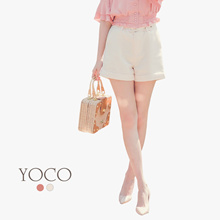 YOCO - Belted Casual Shorts-180363