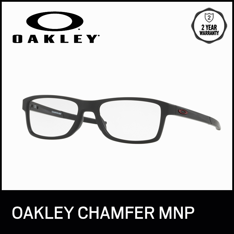 81da6a73add fit to viewer. prev next. Oakley Optical Eyeglasses Chamfer Mnp - OX8089  808901 - Popular - size 54
