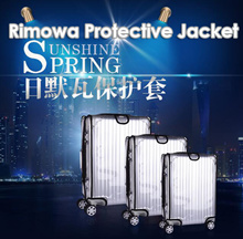 ★FAQ★Home  Deco★Luggage Cover★ For Rimowa★Suitcases★PVC★frosted★transparent★bellows★luggage cover★waterproof and wear-resistance★Leather case protective cover★