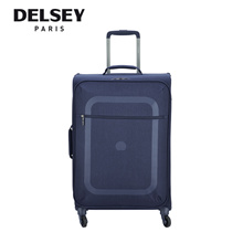Delsey Dauphine 3 66cm/25inch Ultra Light Travel Luggage - Blue