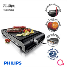 Table grill high temperature extra thick grill plate HD4419/20 (New Launch special!!!!)2 years warra