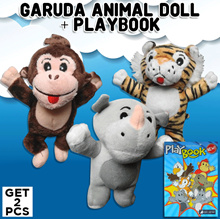 KOLEKSI BONEKA THE CUDDLY COMPANIONS + PLAYBOOK/TWISTER FROM HASBRO CHILDRENS GOODY BAGS