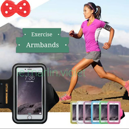 [SG SELLER] ★Exercise Armbands★ Arm Pouches★ Black Blue Light Green and Pink★